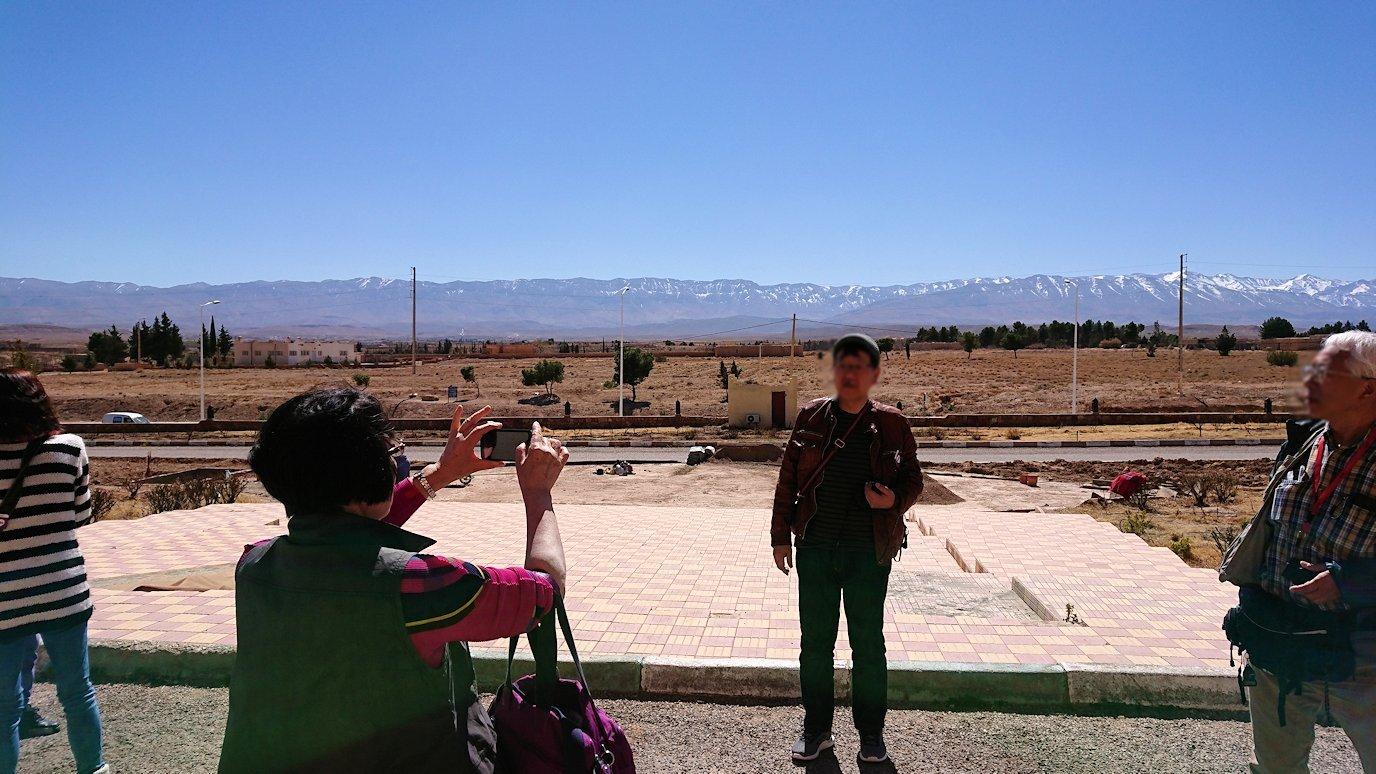 モロッコのミデルトのタダートホテル周辺の景色2