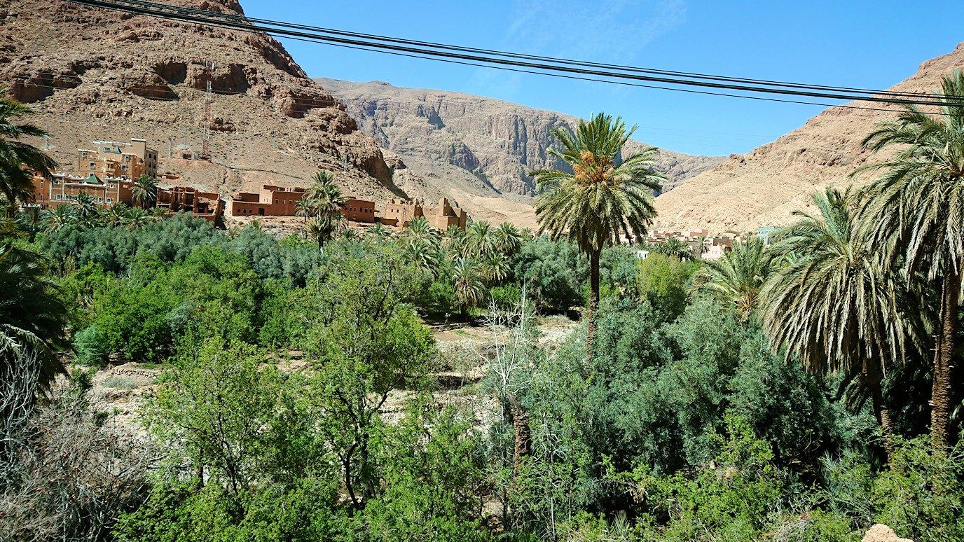 モロッコのトドラ渓谷に向かう途中に見えた景色5