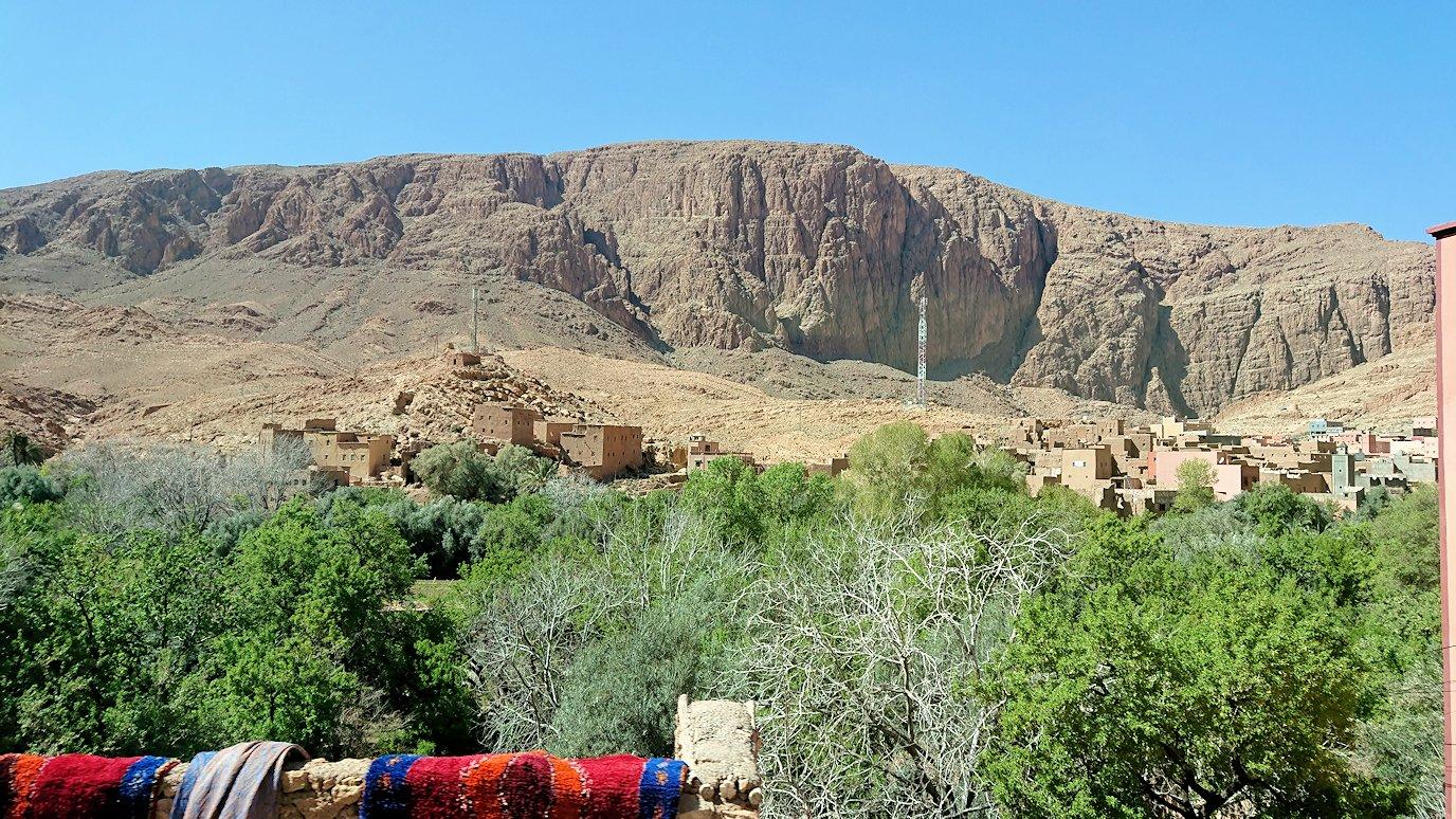 モロッコのトドラ渓谷に向かう途中に見えた景色6