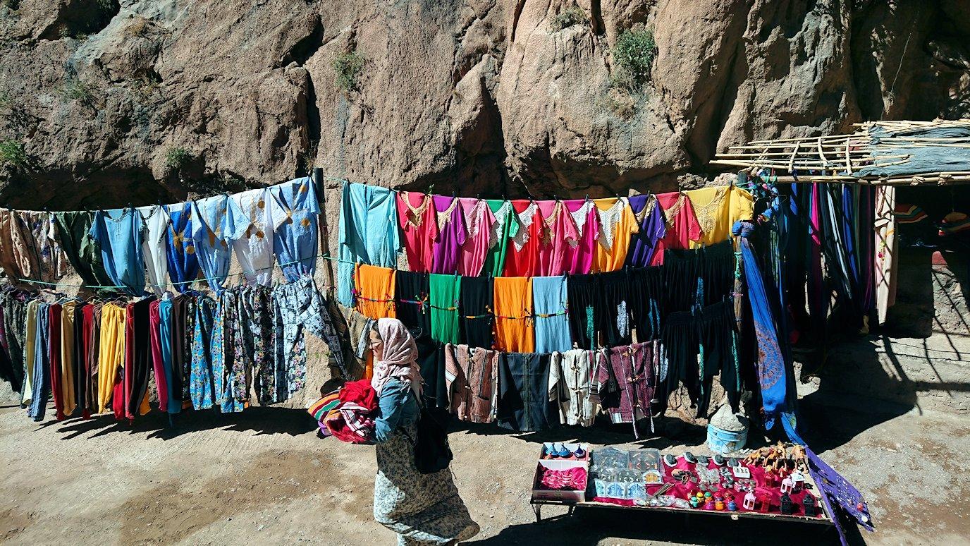 モロッコのトドラ渓谷に到着