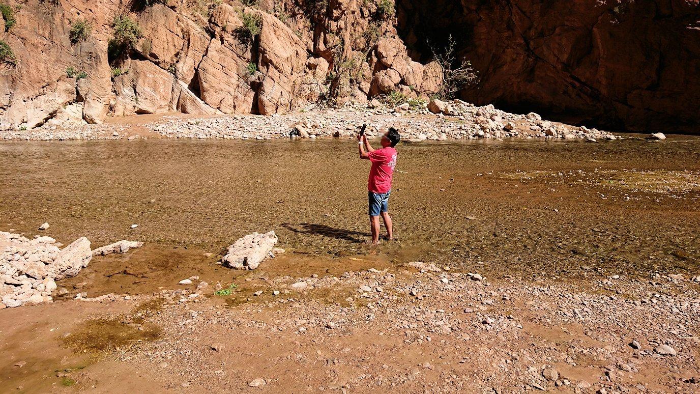 モロッコのトドラ渓谷に到着2