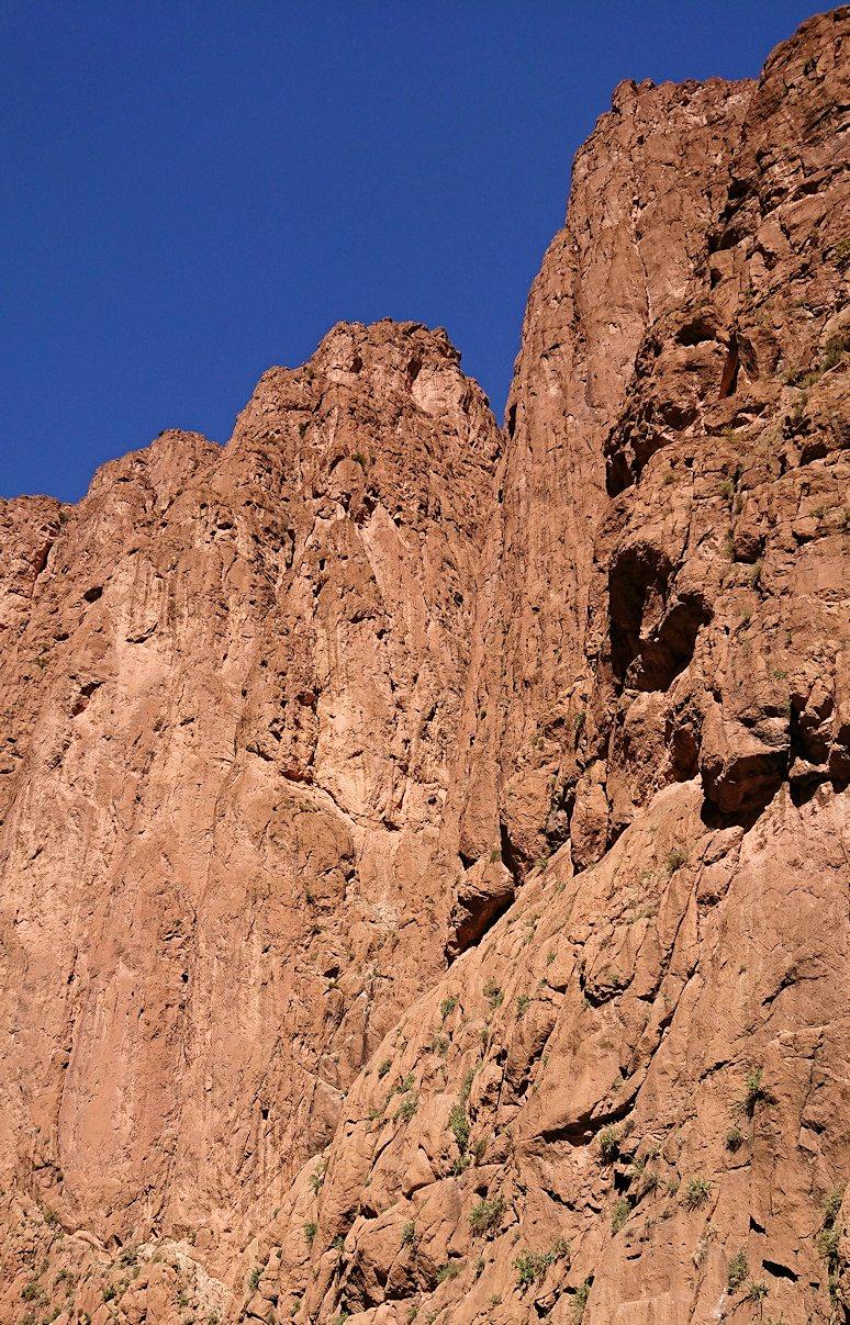 モロッコのトドラ渓谷に到着4