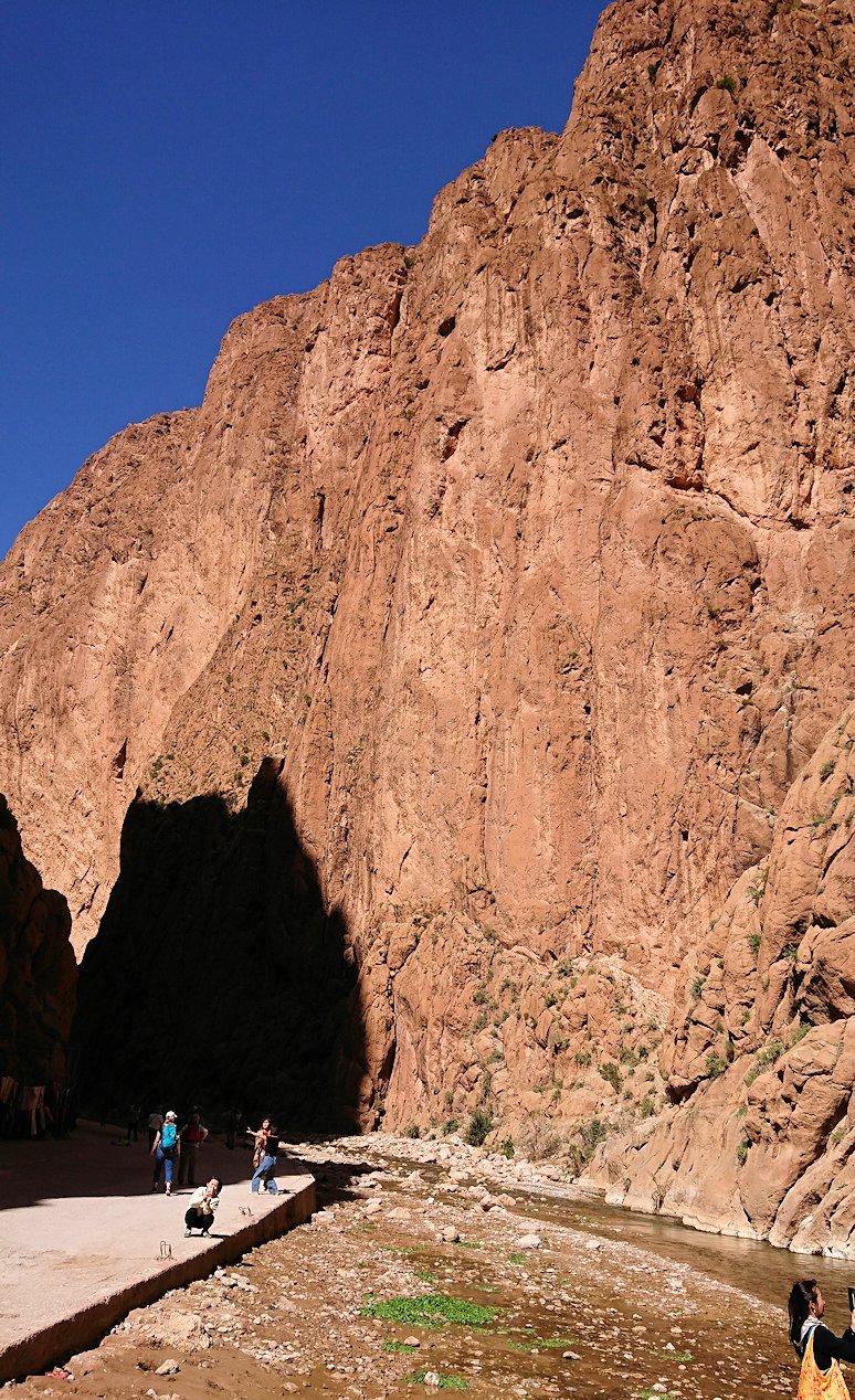 モロッコのトドラ渓谷に到着6