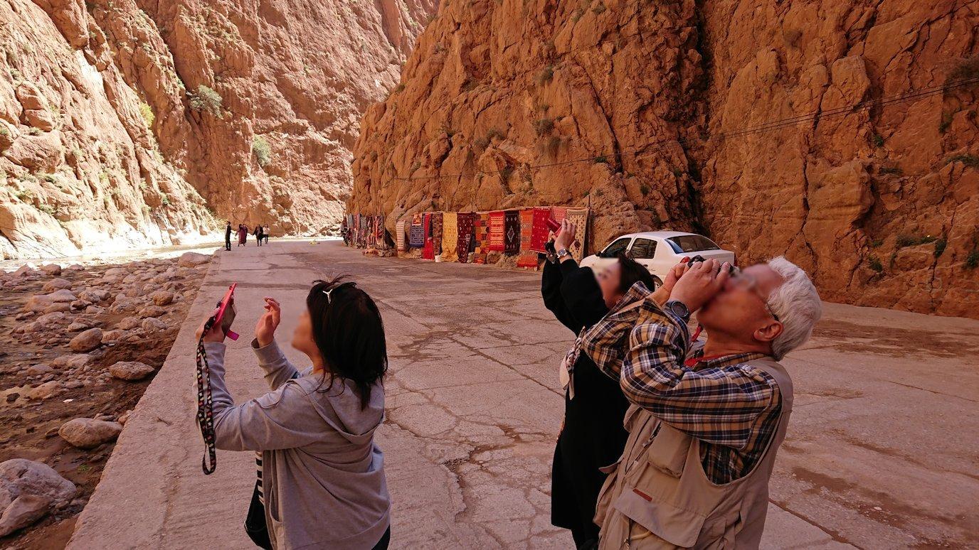 モロッコのトドラ渓谷の景色を楽しむ5