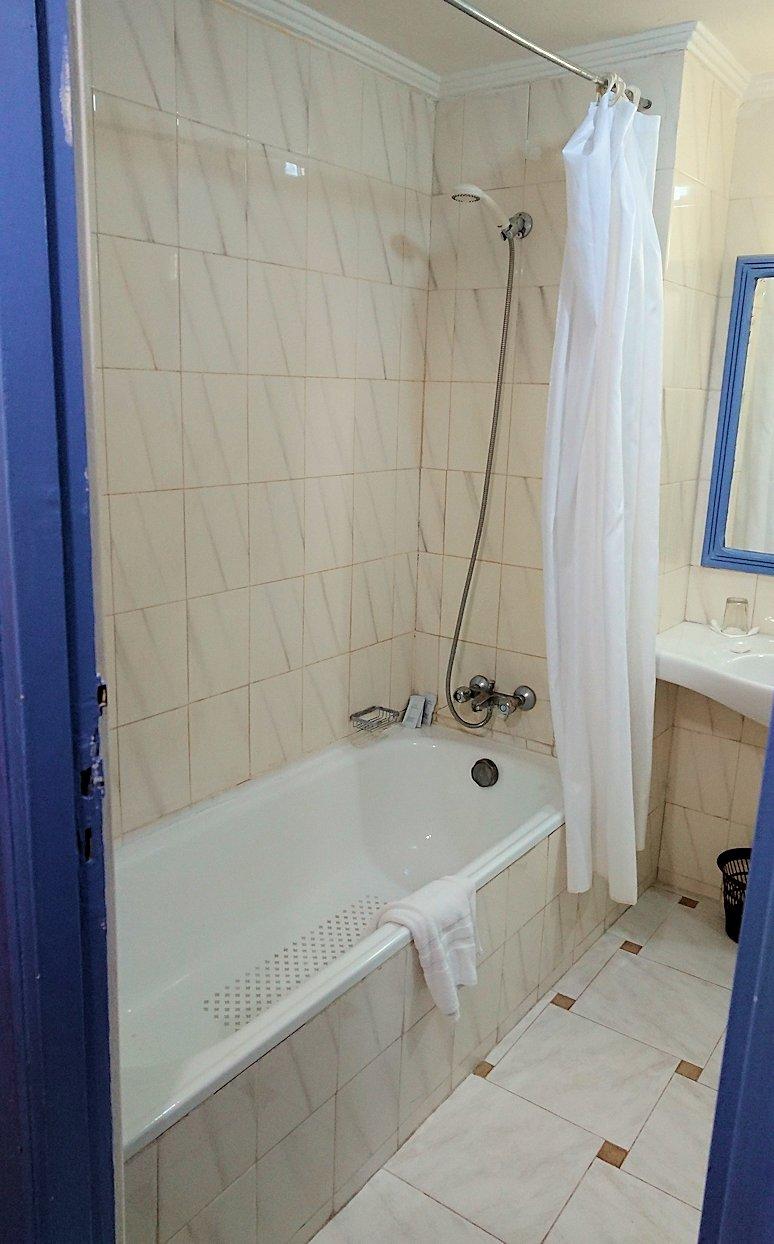 モロッコのワルザザートのホテルの部屋の様子