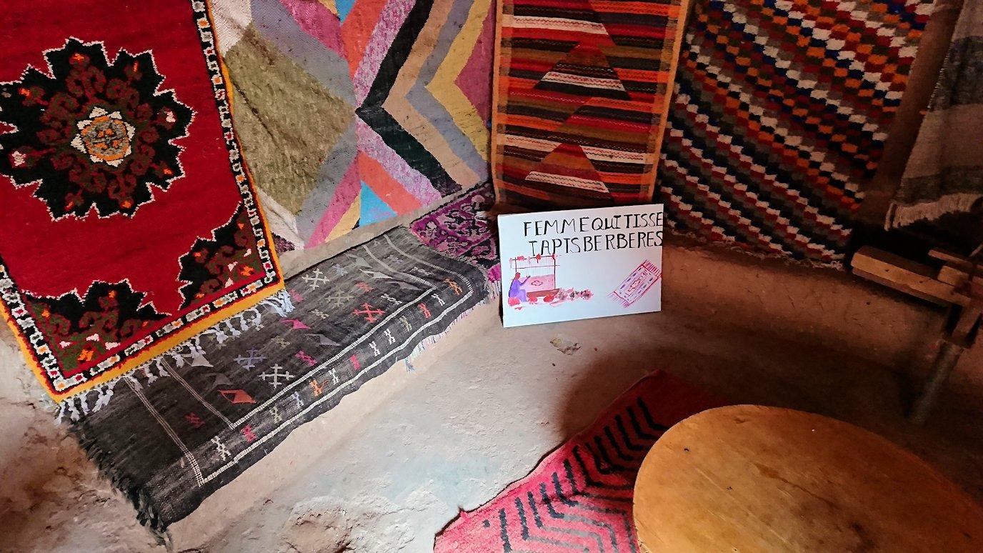 モロッコのワルザザートのアイト・ベン・ハッドゥで個人宅に伺う9