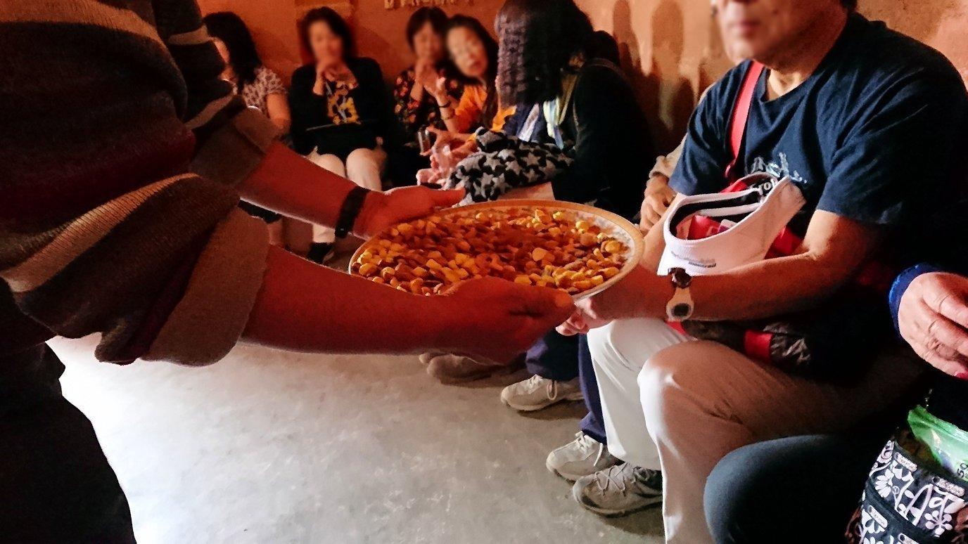 モロッコのワルザザートのアイト・ベン・ハッドゥで個人宅内の様子8