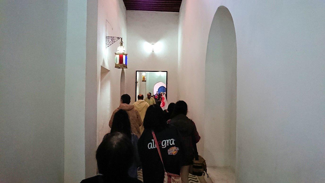 モロッコのマラケシュでバヒア宮殿を見学する1