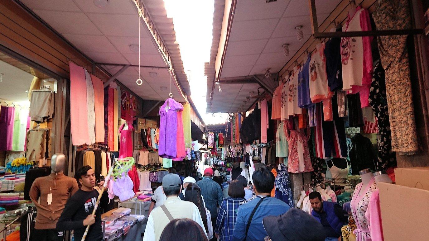 モロッコ・マラケシュでホテルからジャマ・エル・フナ広場に向かう途中の様子9