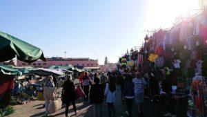 モロッコ・マラケシュでジャマ・エル・フナ広場辺りの様子7