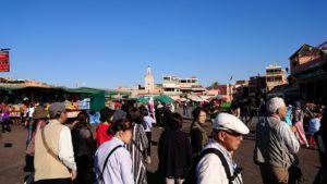 モロッコ・マラケシュでジャマ・エル・フナ広場辺りを楽しむ5