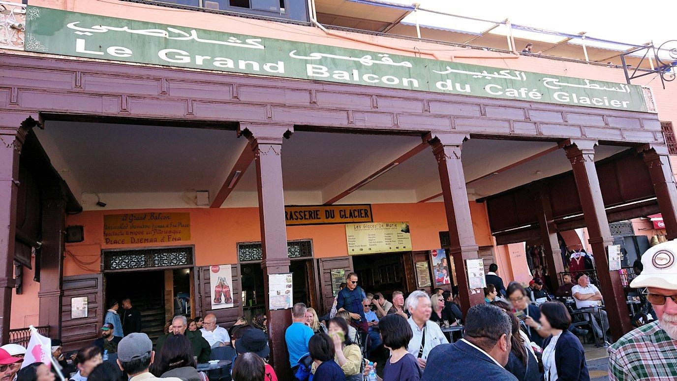 モロッコ・マラケシュでジャマ・エル・フナ広場辺りを楽しむ8
