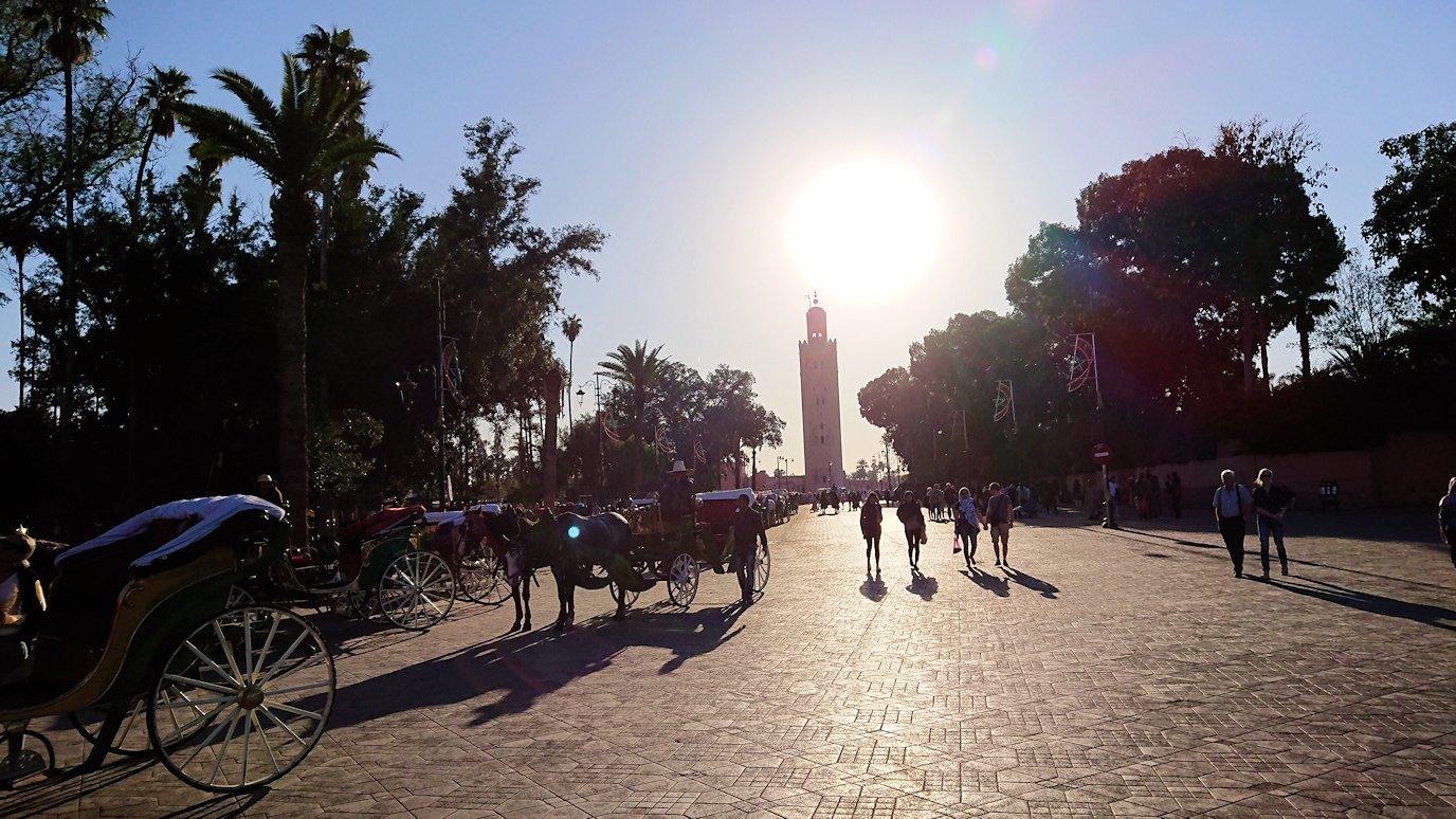 モロッコ・マラケシュでジャマ・エル・フナ広場を散策し見かけた景色6