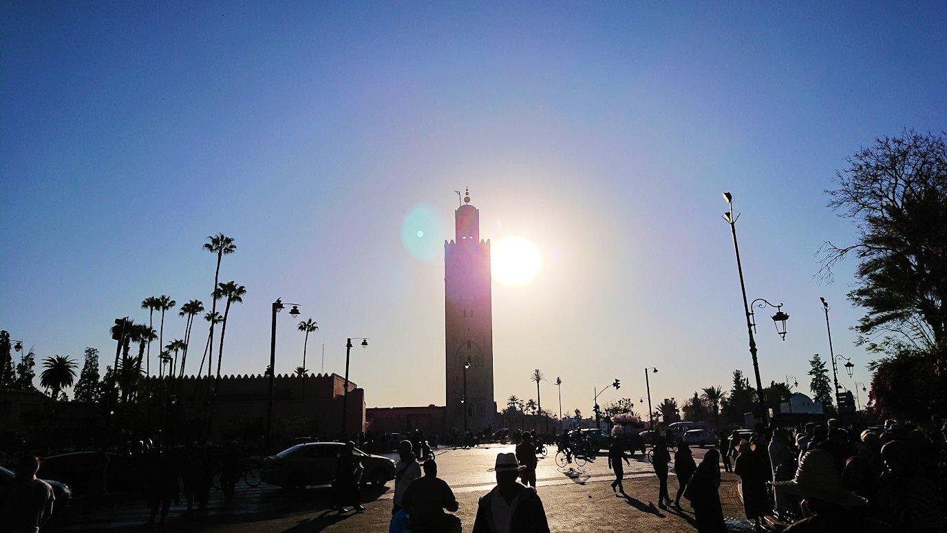 モロッコ・マラケシュでジャマ・エル・フナ広場を散策し見かけた景色7