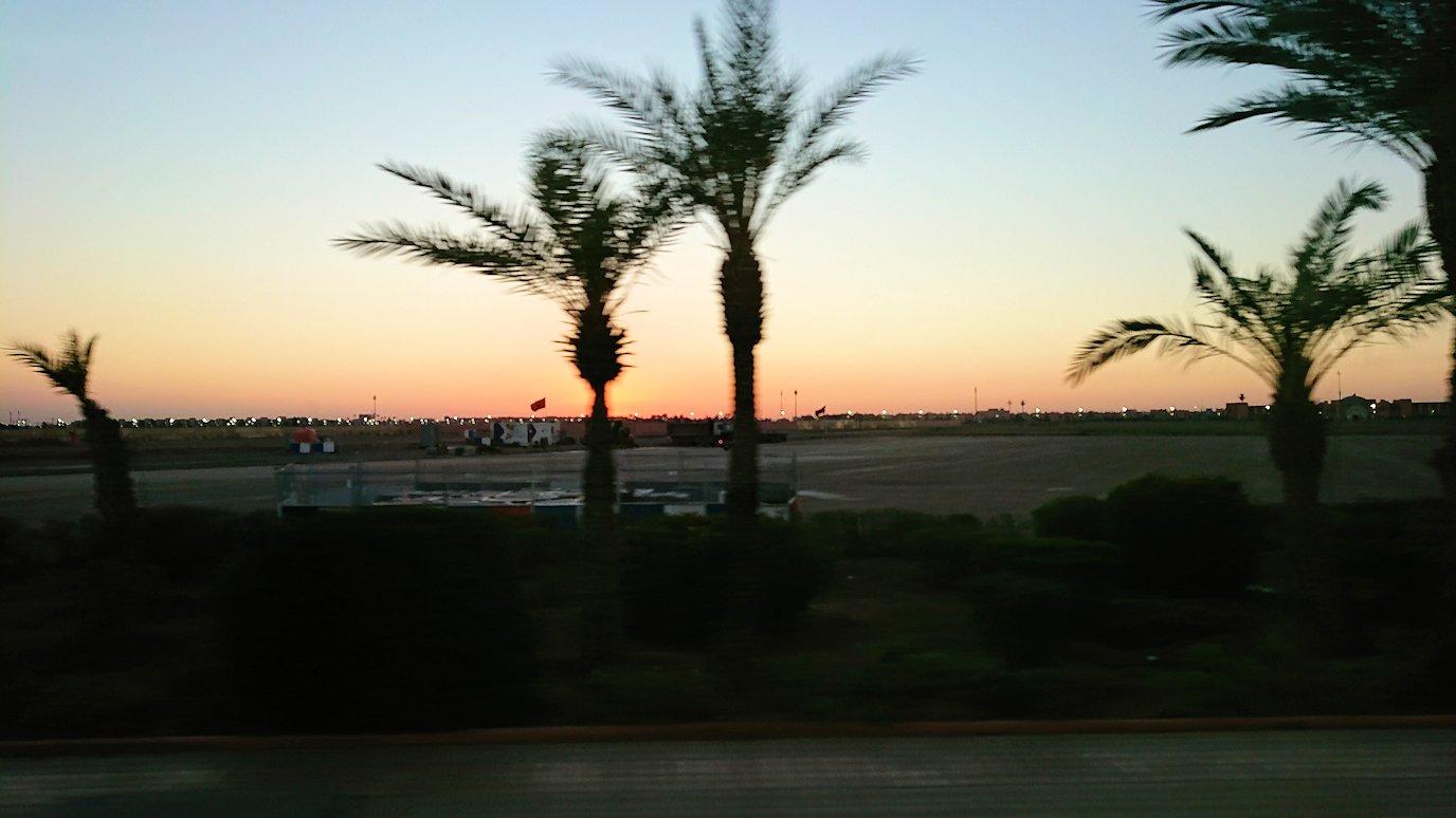 モロッコ・マラケシュでジャマ・エル・フナ広場からホテルに戻る2