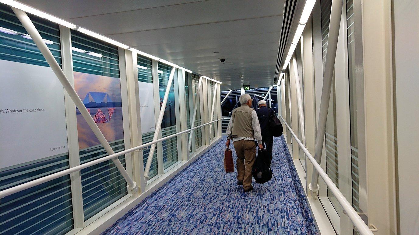 モロッコのカサブランカ空港でA380-800のビジネスクラスに搭乗しドバイ空港に無事到着!3