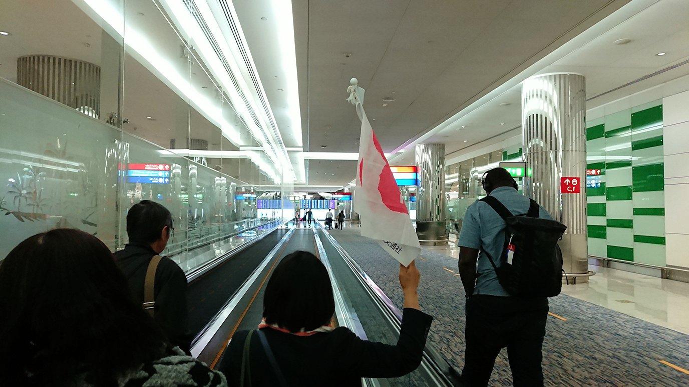 モロッコのカサブランカ空港でA380-800のビジネスクラスに搭乗しドバイ空港に無事到着!8