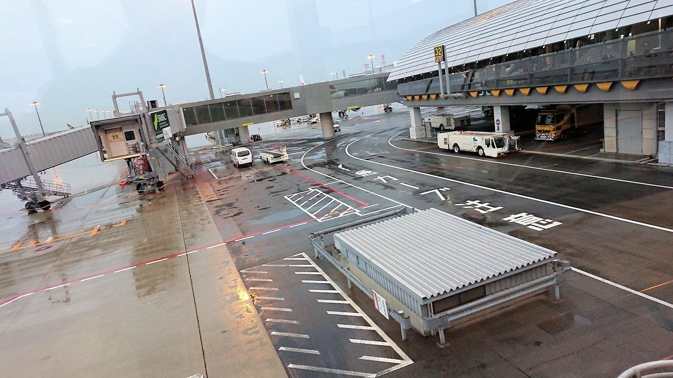 ドバイ国際空港から関西国際空港へ無事到着2
