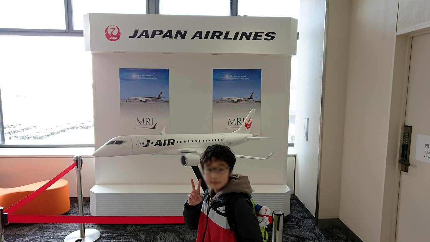 伊丹空港から函館空港に向かう途中の国内線ターミナルにて5