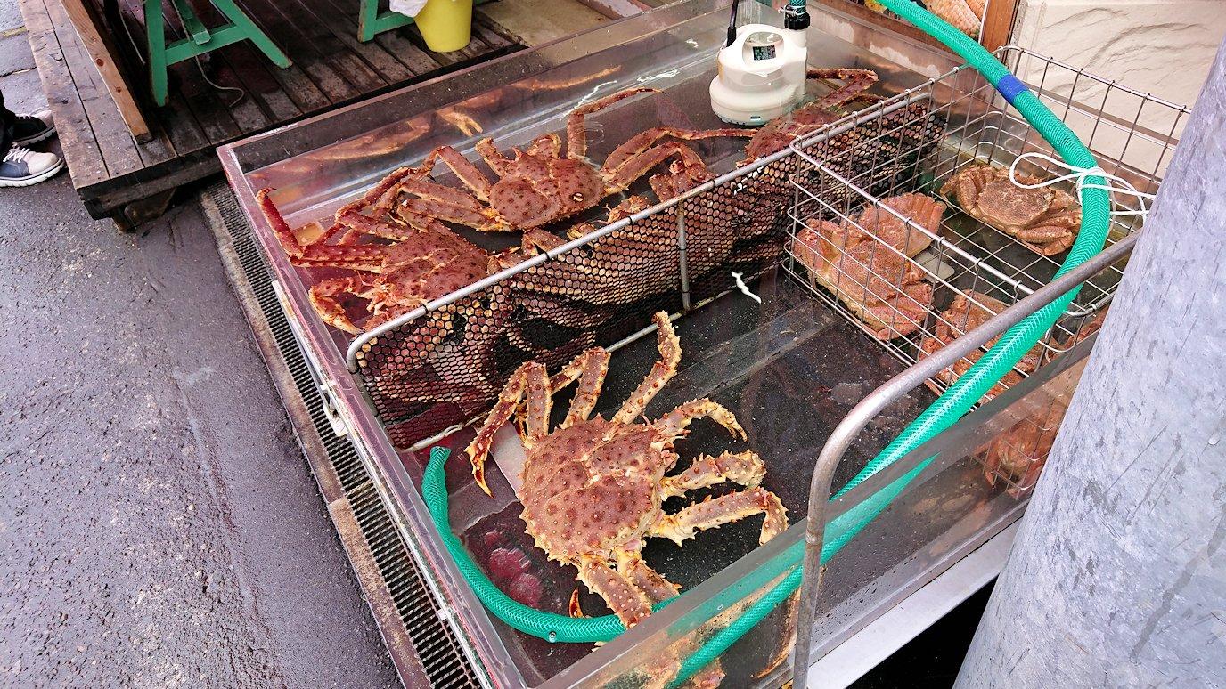 函館2日目の朝は朝食をラッキーピエロで食べて朝市会場に向かう4