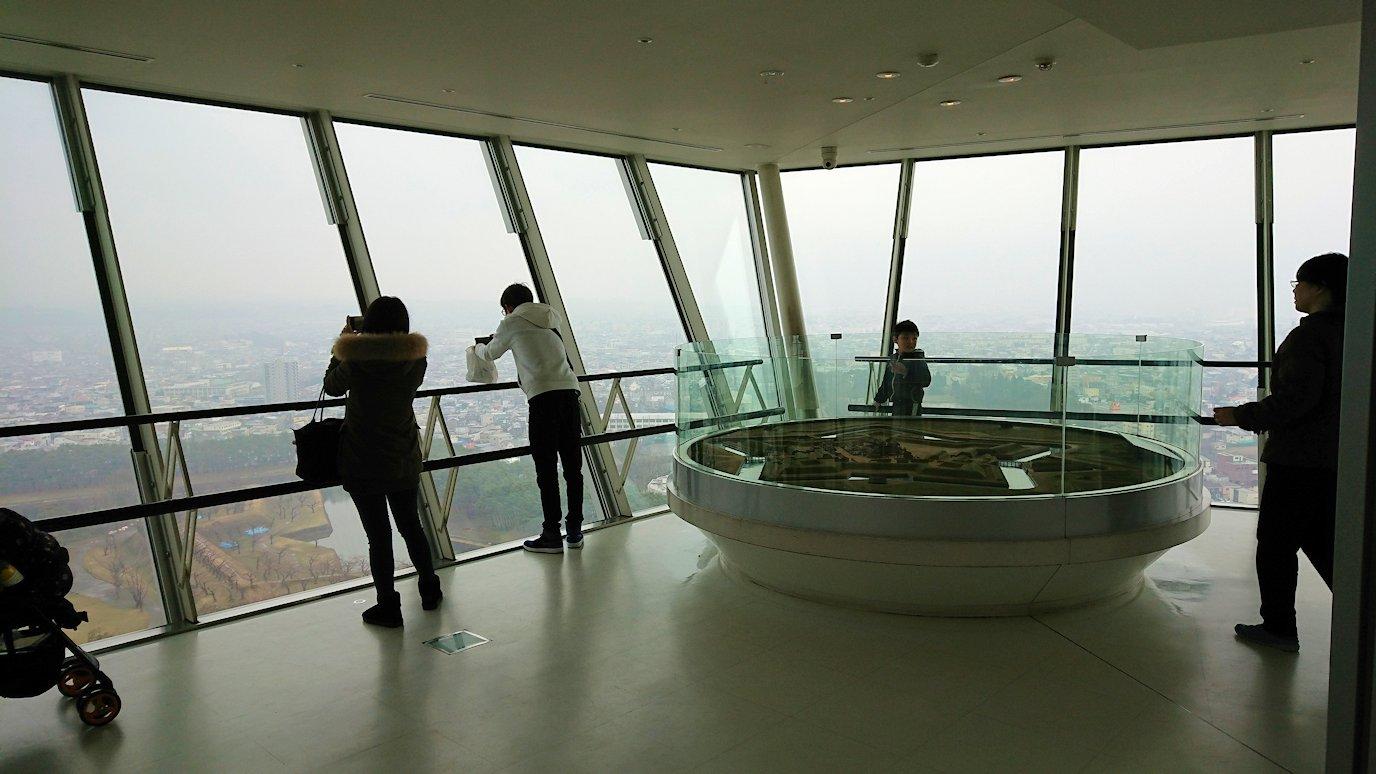 函館2日目は五稜郭タワーに登り景色を楽しむ1