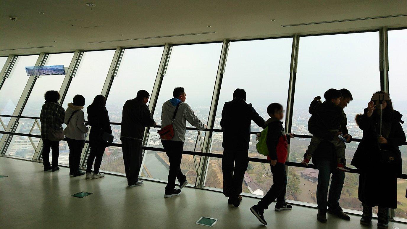 函館2日目は五稜郭タワーに登り景色を楽しむ2