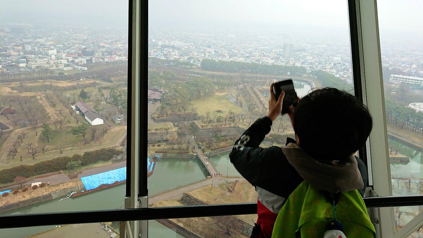 函館2日目は五稜郭タワーに登り景色を楽しむ6