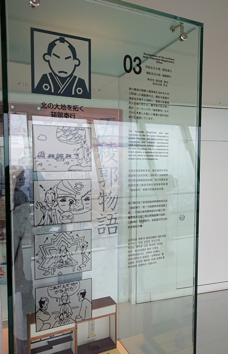 函館2日目は五稜郭タワーに登り景色を楽しむ9