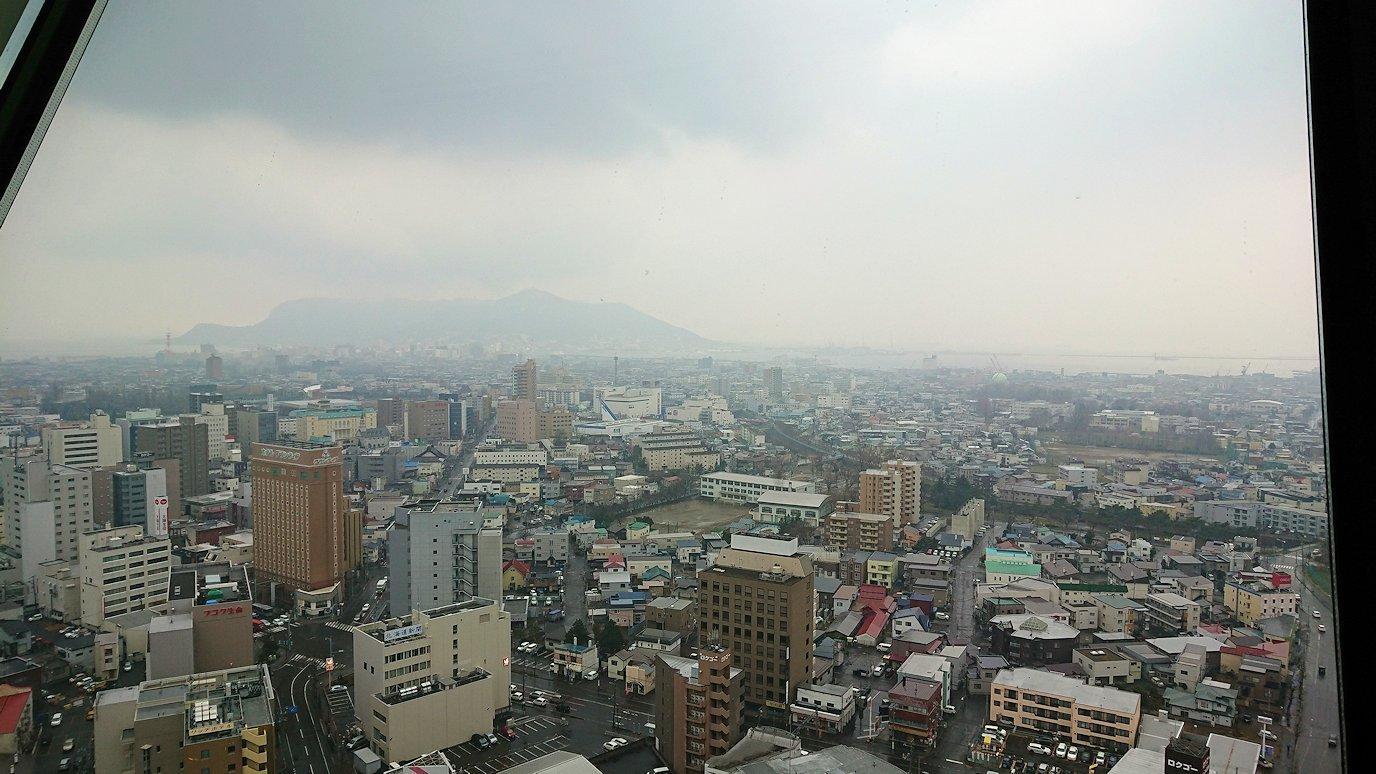 函館2日目は五稜郭タワーの展望台の景色2