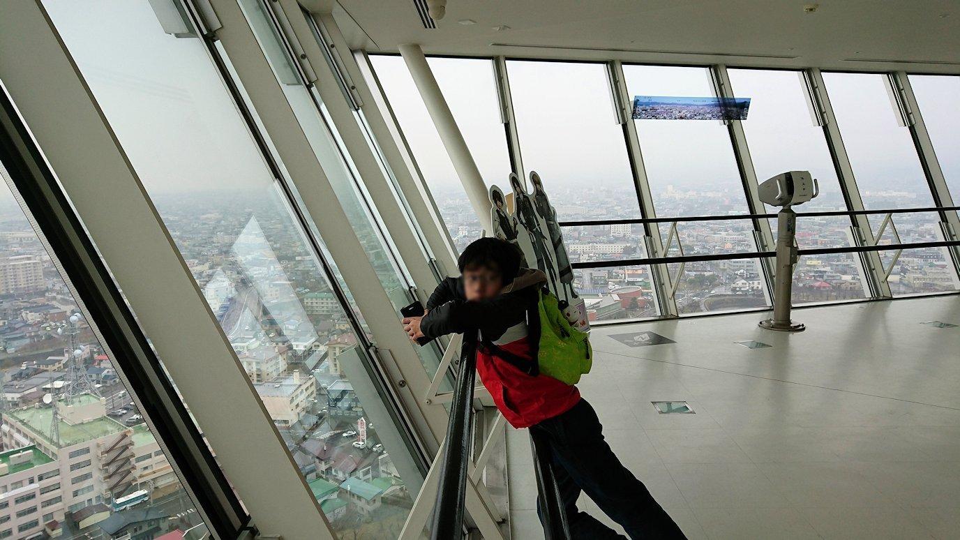 函館2日目は五稜郭タワーの展望台の景色3