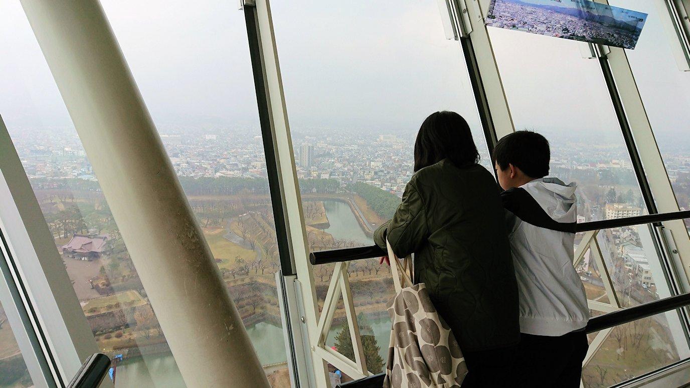 函館2日目は五稜郭タワーの展望台の景色7