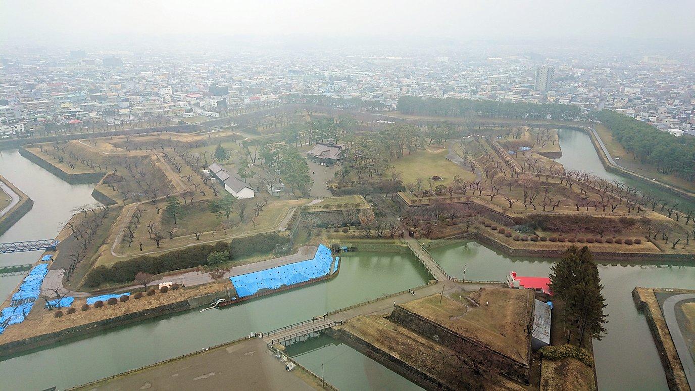 函館2日目は五稜郭タワーの展望台の景色8
