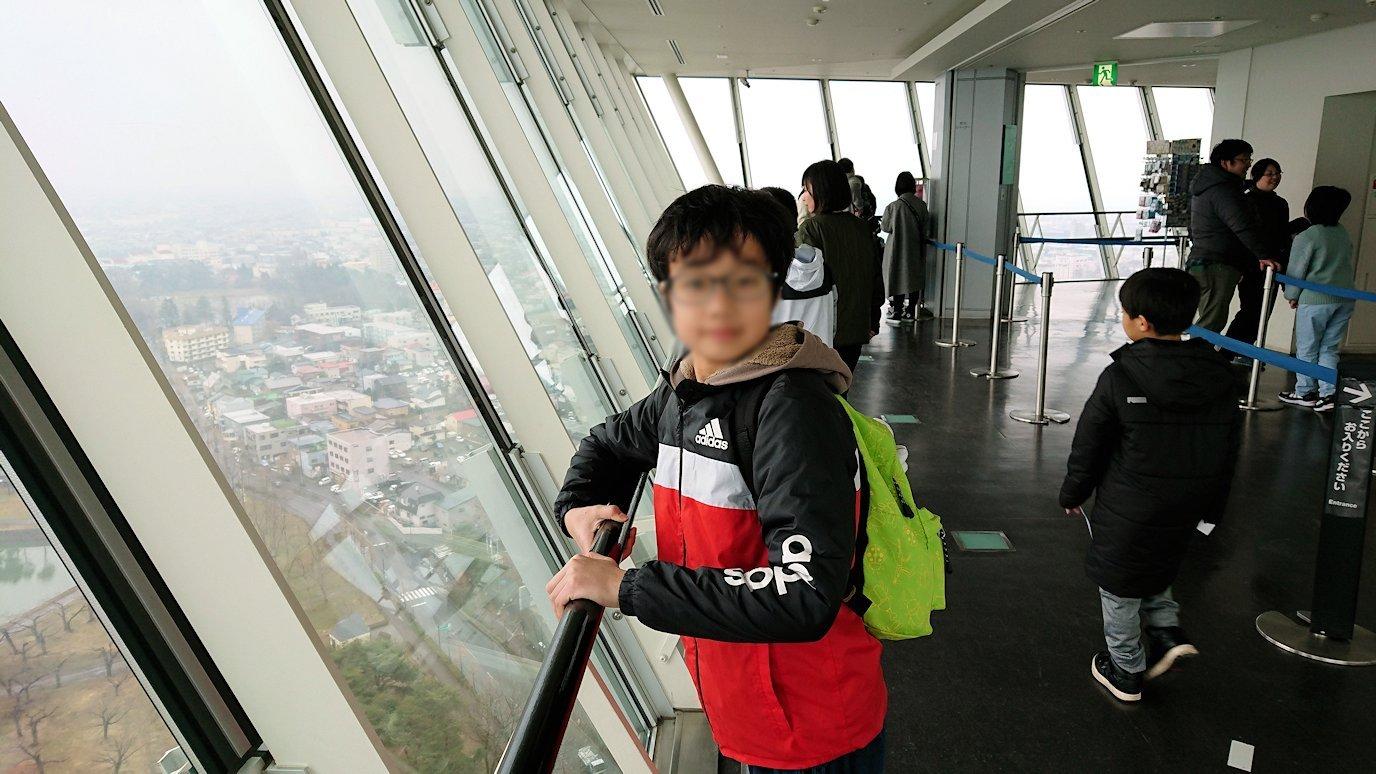 函館2日目は五稜郭タワーの展望台の景色9