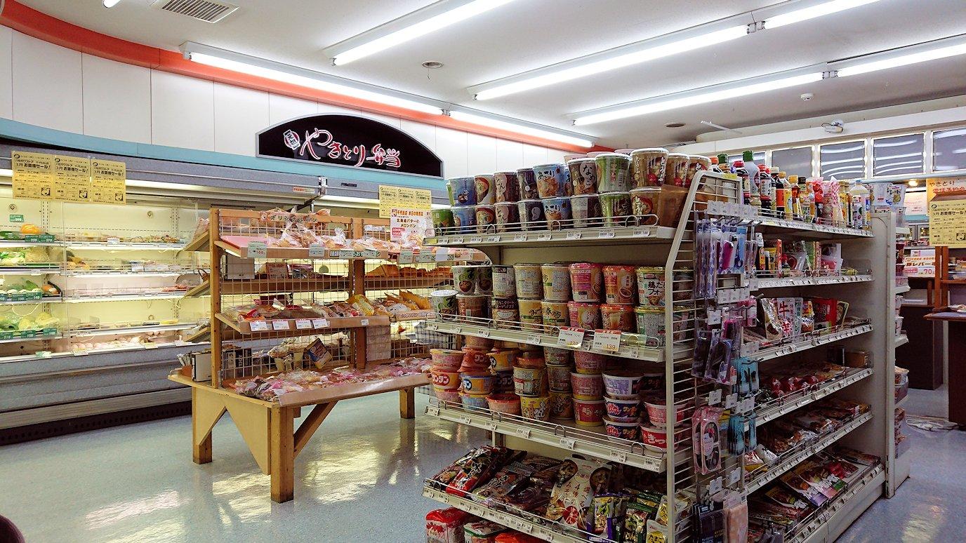 函館市内で石川啄木公園からハセガワストアでやきとり弁当を食べる8
