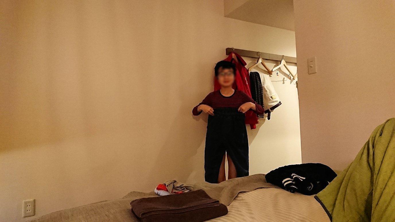 函館市内で函館市内のハセガワストアでやきとり弁当を食べてホテルに戻る4