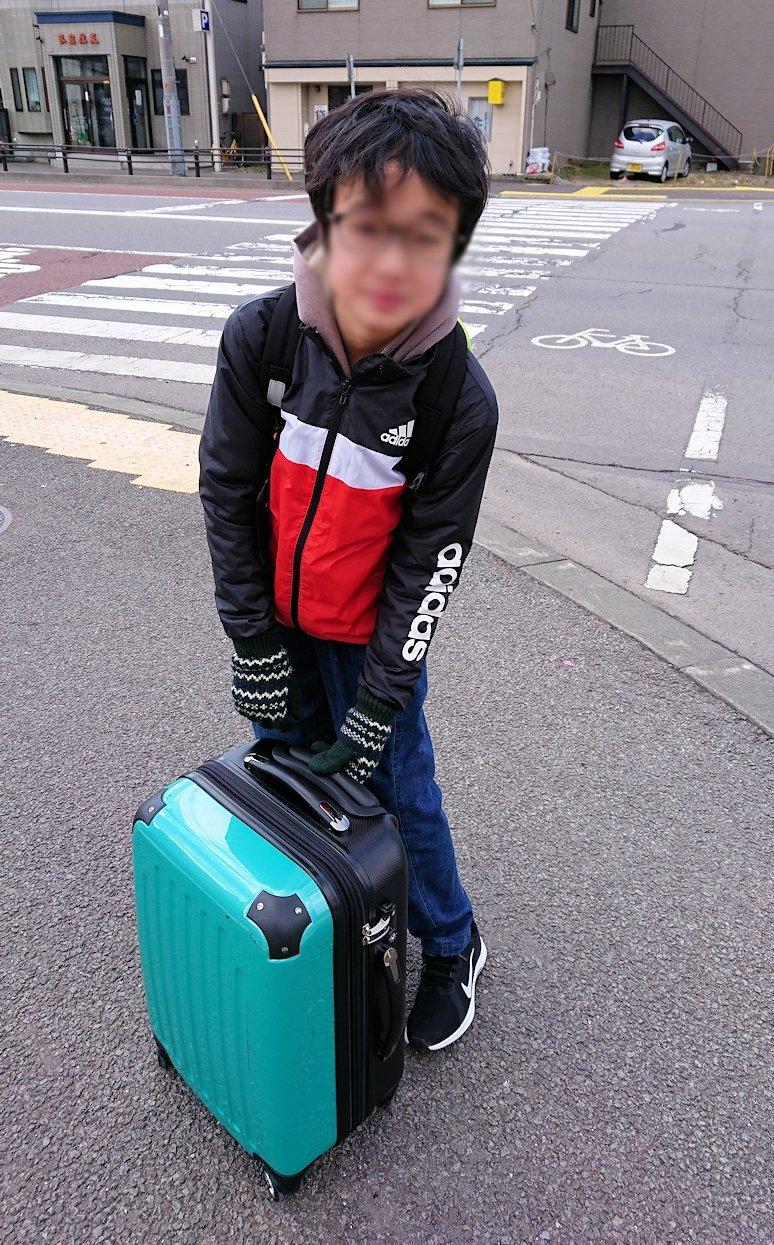 函館最終日、まずはほてるをチェックアウトして函館駅に向かう2