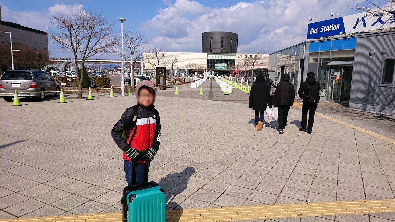 函館最終日、まずはほてるをチェックアウトして函館駅に向かう5