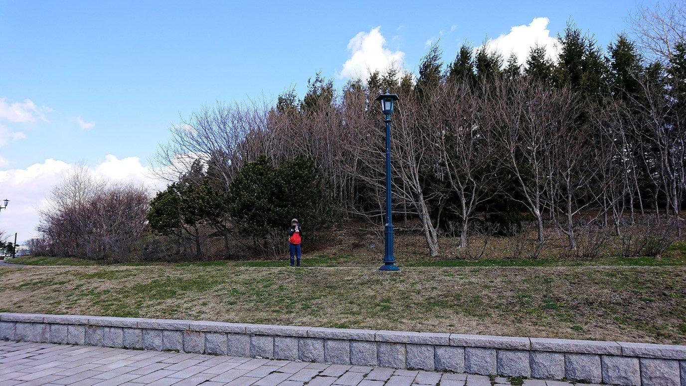函館最終日は海沿いを歩いて緑の島に到着6