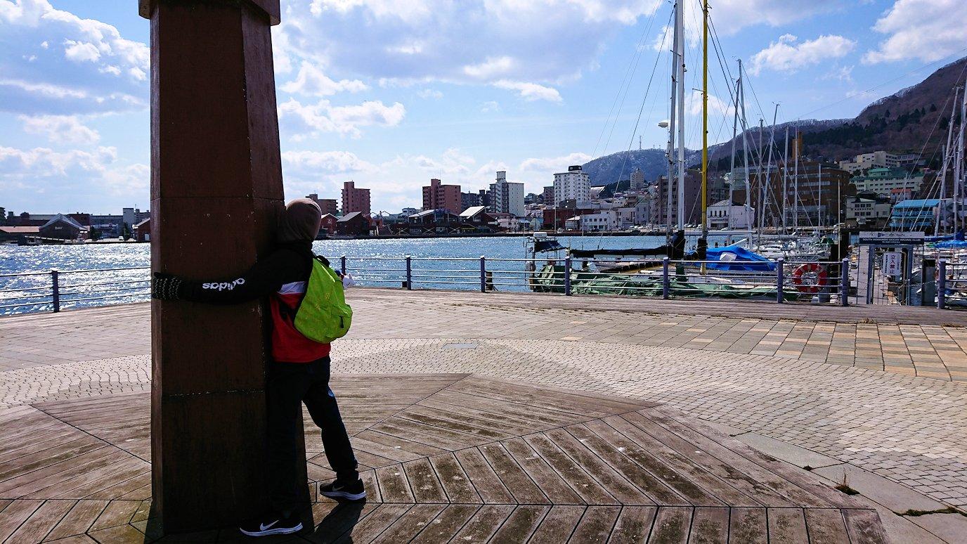 函館最終日は海沿いを歩いて緑の島を散策する4