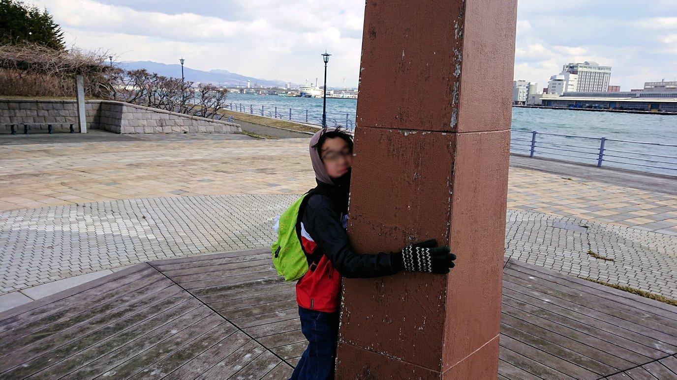 函館最終日は海沿いを歩いて緑の島を散策する6