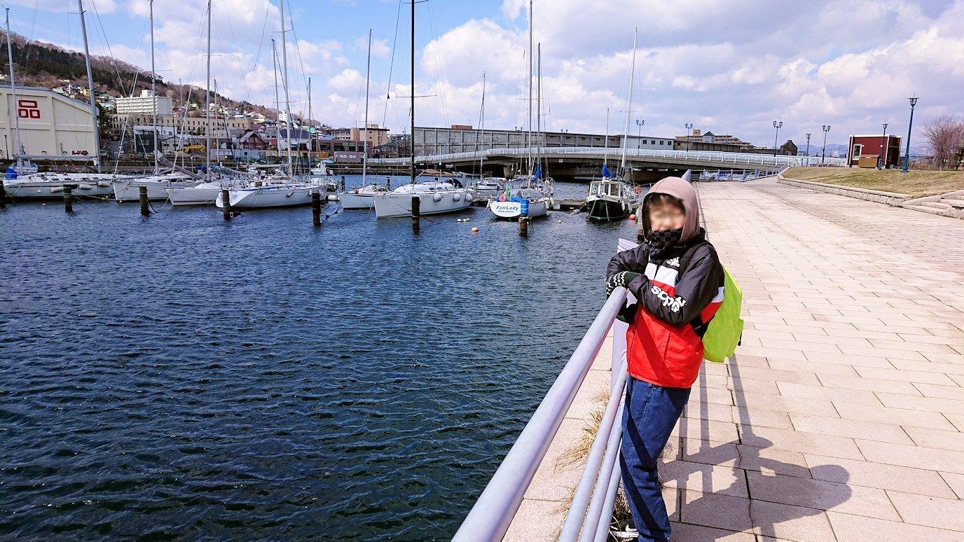 函館最終日は海沿いを歩いて緑の島を散策する8