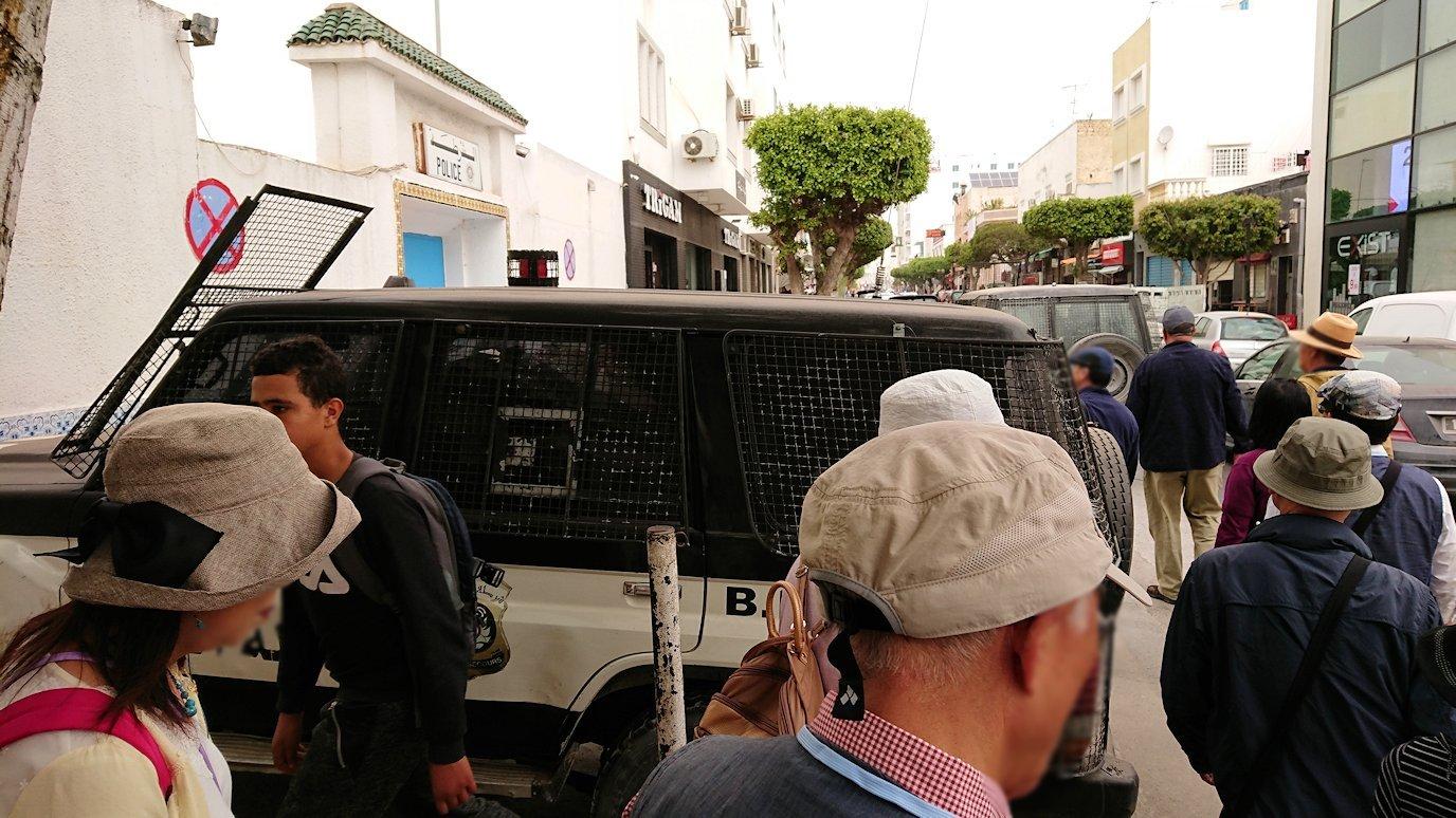 チュニジア:ナブールの街で旧市街地へ向かう8