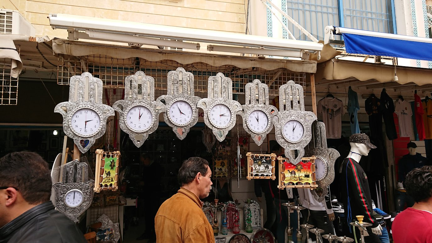 チュニジア:ナブールの街で旧市街地を散策2