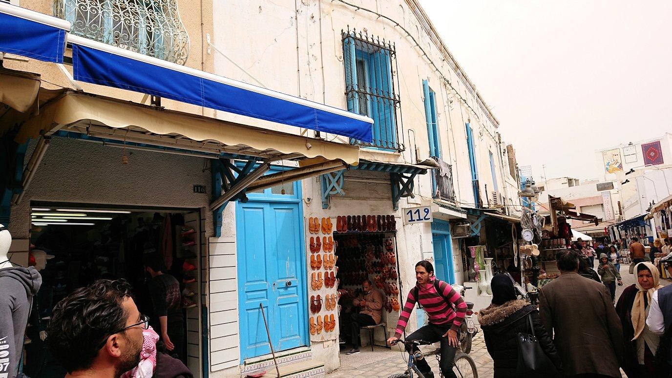 チュニジア:ナブールの街で旧市街地を散策3