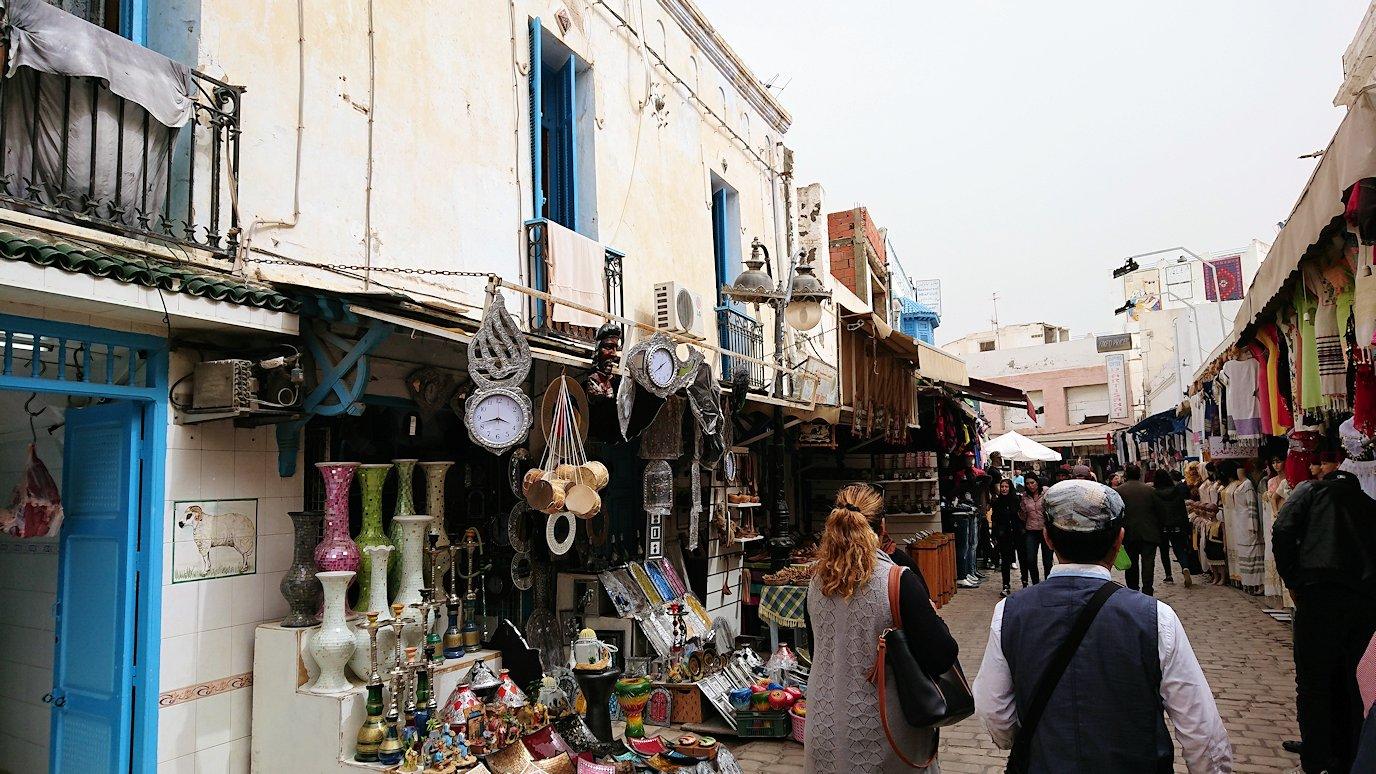チュニジア:ナブールの街で旧市街地を散策4