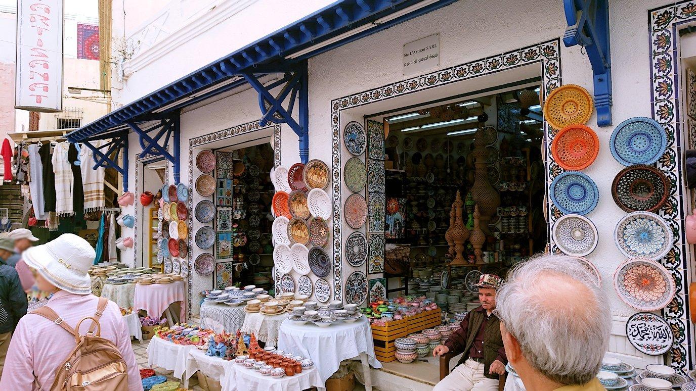 チュニジア:ナブールの街で旧市街地を散策8