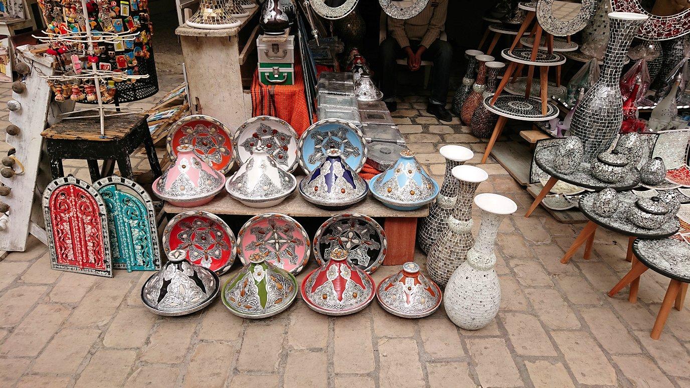 チュニジア:ナブールの街で旧市街地を散策9