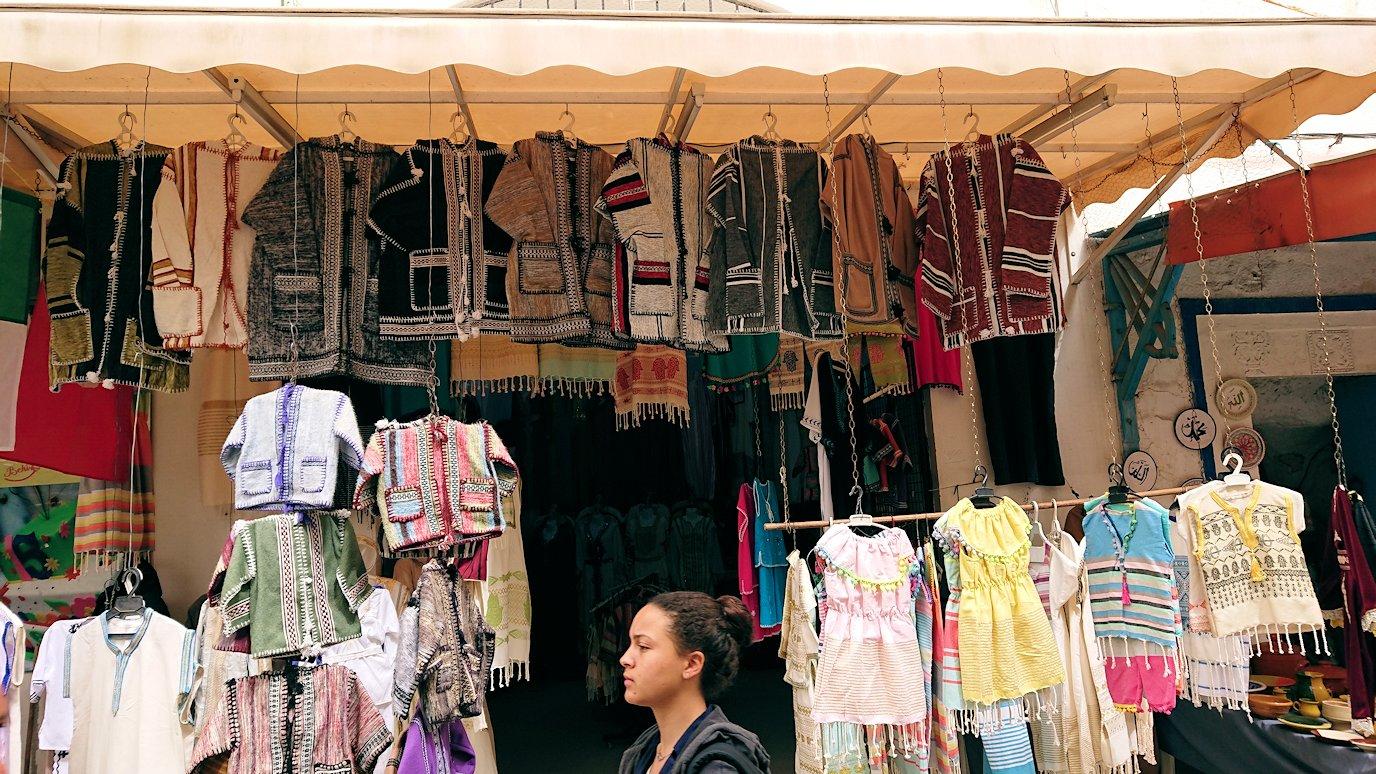 チュニジア:ナブールの街で旧市街地を奥まで進む9