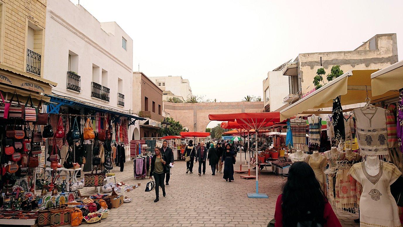 チュニジア:ナブールの街で旧市街地を引き返す7