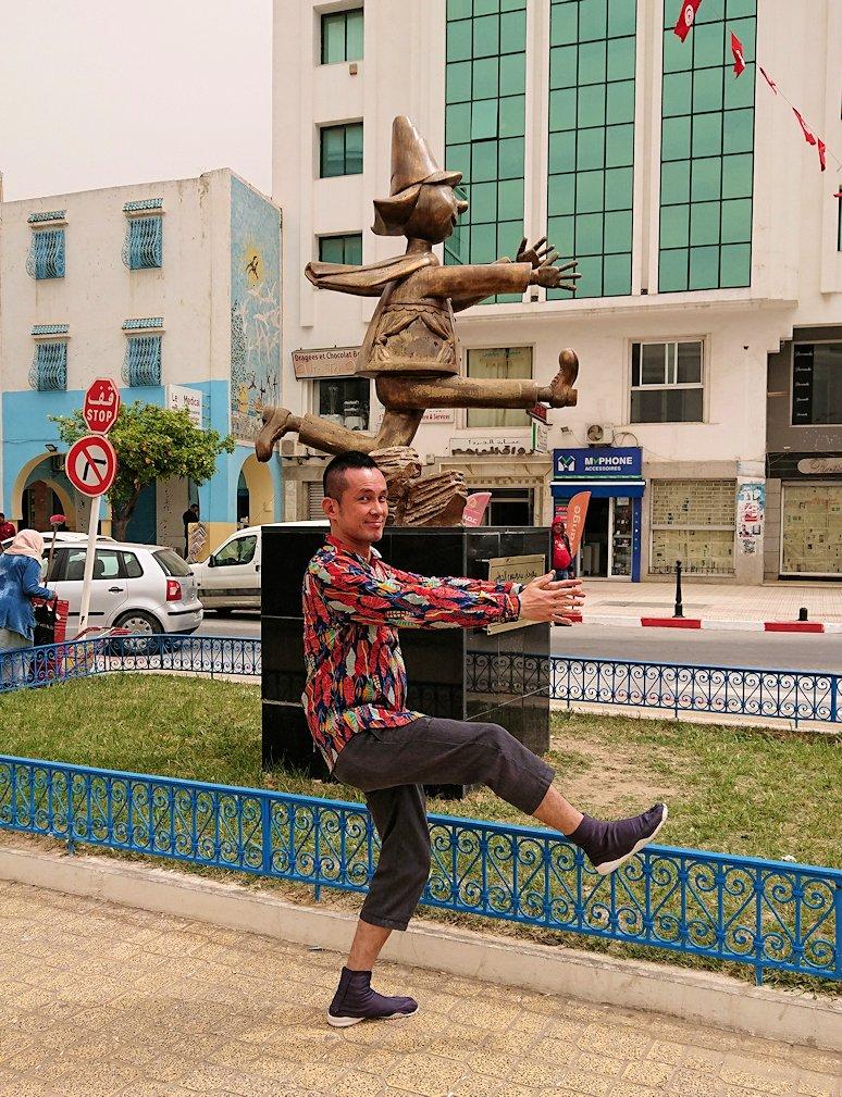 チュニジア:ナブールの街で旧市街地を引き返す8